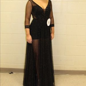 Formal pageant prom dress